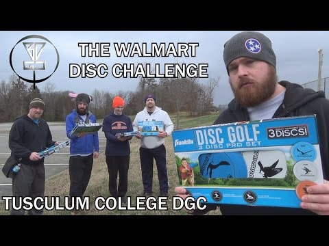 The Walmart Disc Challenge - Tusculum College DGC in Greenev