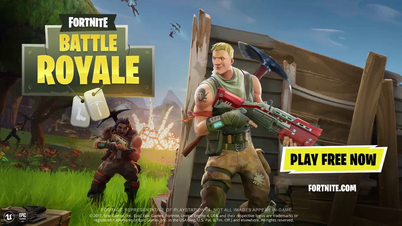 fortnite battle royale ps4 free to play