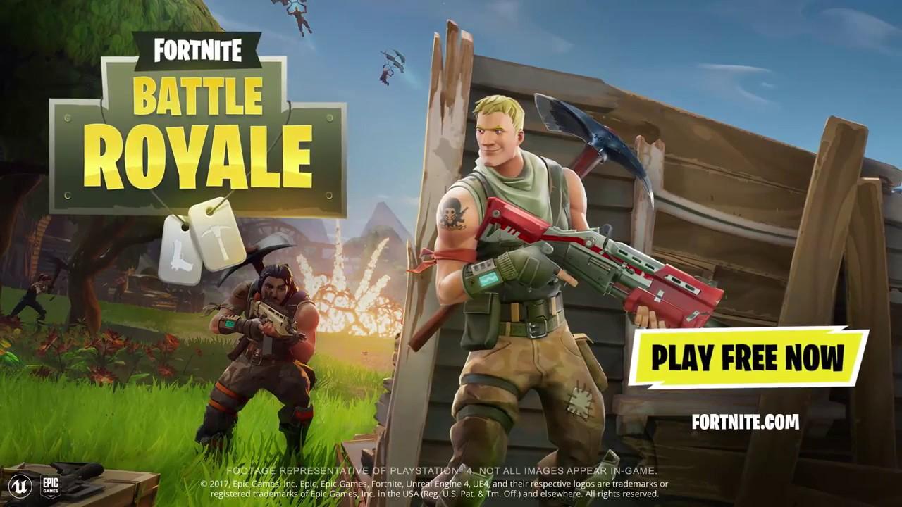 Fortnite Battle Royal Playstation Plus Free Games