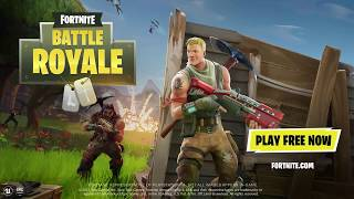 "FORTNITE BATTLE ROYAL Playstation PLUS FREE GAMES ""Official E3 Gameplay & Trailer"" 