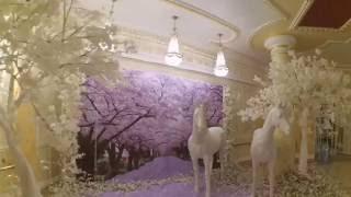 Деревья для фотозоны для свадьбы в