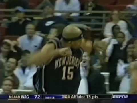 Vince Carter reverse alley oop from Kidd vs Magic, Ian Eagle Call 2006