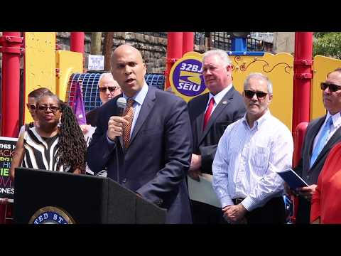 Sen. Booker states withdrawal from Climate agreement threatens inner cities