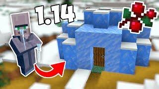ЛЕДЯНЫЕ ДЕРЕВНИ В 1.14! - ПОЛНЫЙ ОБЗОР СНАПШОТА 18w49a - Minecraft 1.14