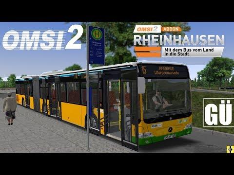 OMSI 2 [60 FPS] - FACELIFT GÜ in Rheinhausen Linie 15 - Let's Play Omsi 2 [#389]