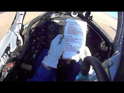 MiG-15 takeoff from Runway 2, KSAF, NM, USA