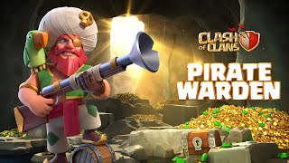 Plunder with the Pirate Warden! (Clash of Clans Season Challenges)