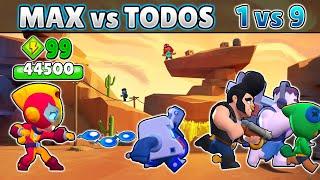 99 Power Max VS TODOS   1 VS 9   Satisfactorio