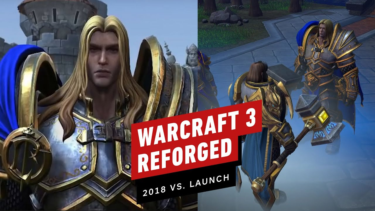 Warcraft 3 Reforged Blizzcon 2018 Vs Launch 2020 Comparison