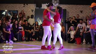 Pagee & Leonor VS Erwan & Océane - Olympiads Of Kizomba 2019 🏆 - Urban Final