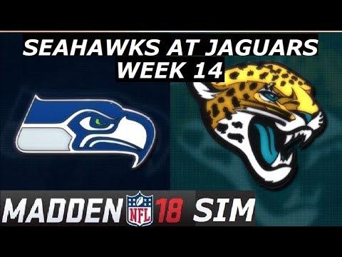Madden 18 - Week 14 - Seattle Seahawks at Jacksonville Jaguars 2017