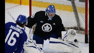 LEAFS LOCKER ROOM: Last practice before NHL 2021 season opener