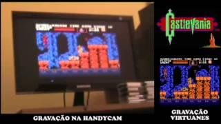 Castlevania (NES) - No Death/No Cheats by Guga (Gravado na câmera)