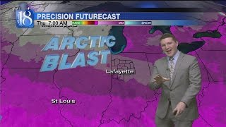News 18 At Six's FORECAST (12/14/16)