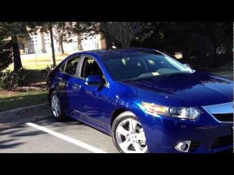 Brand New 2012 Acura TSX in Vortex Blue Review, Walk Around, Test Drive