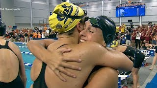2019 NCAA Women's Swimming and Diving: California sets a new NCAA and U.S. Open record in 400...