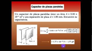 Video Capacitores 1 - Electricidad y Magnetismo