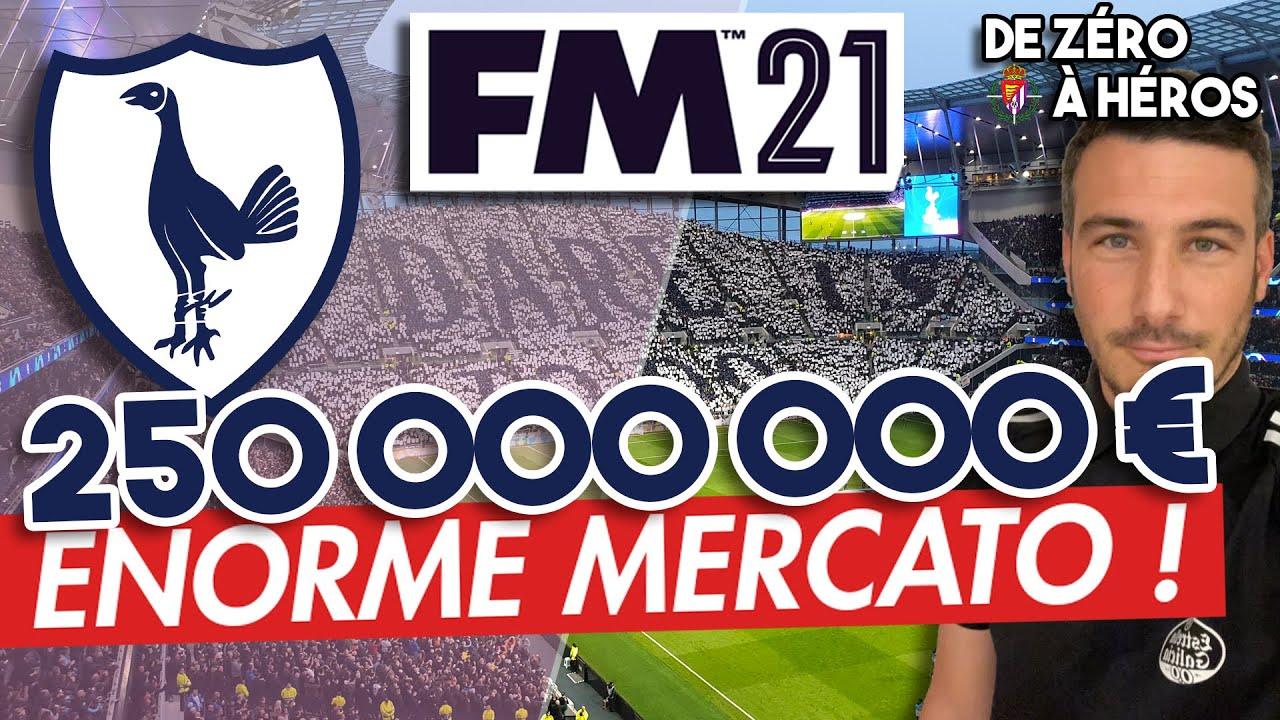 [FM21] – 1 MOIS = 250 MILLIONS DE MERCATO  / Football Manager2021 / Carrière FM2021