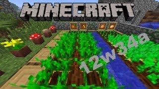 Minecraft Snapshot 12w34a: Möhren, Kartoffeln und vieles Mehr :D [Deutsch] [HD]