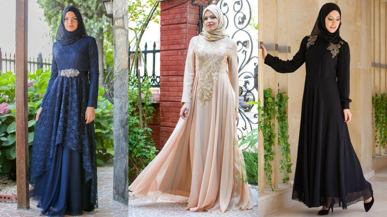 95607eaee2b5f Vavin Giyim Tesettür Abiye Elbise Modelleri 1/2 - YouTube