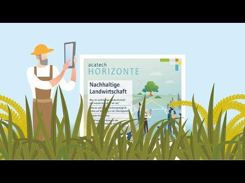 acatech HORIZONTE Nachhaltige Landwirtschaft: Wie kann Sie in Zukunft aussehen? 3. Dezember 2019