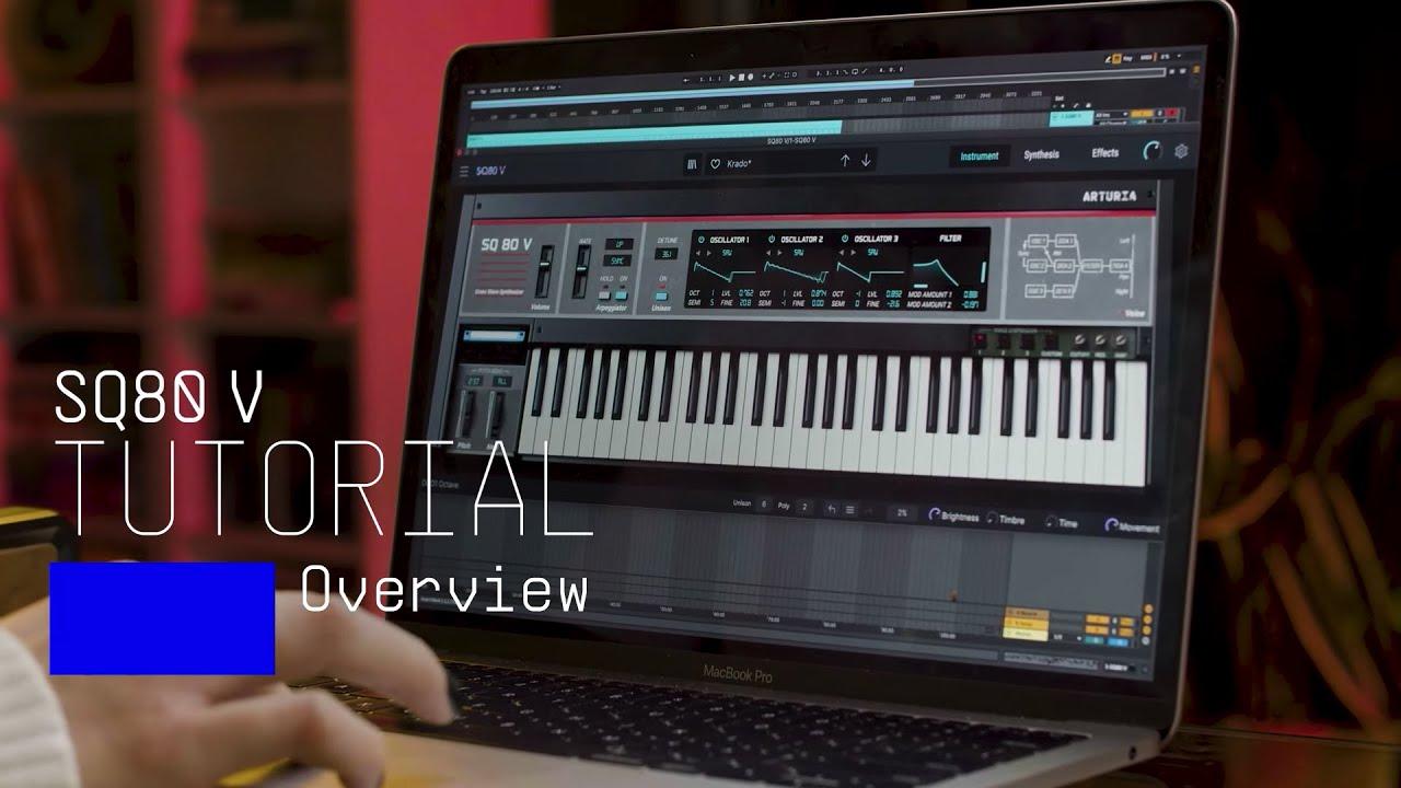 Download Tutorials  SQ80 V - Overview
