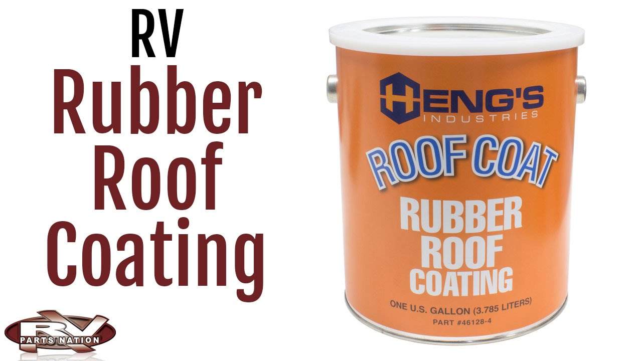 Rubber Roof Coating Youtube