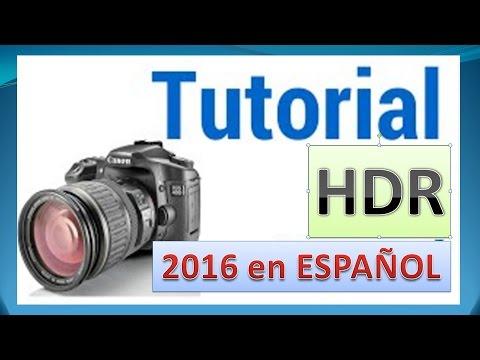 📷Tutorial crear HDR con UNA  fotografía | HDR con Personas en Movimiento