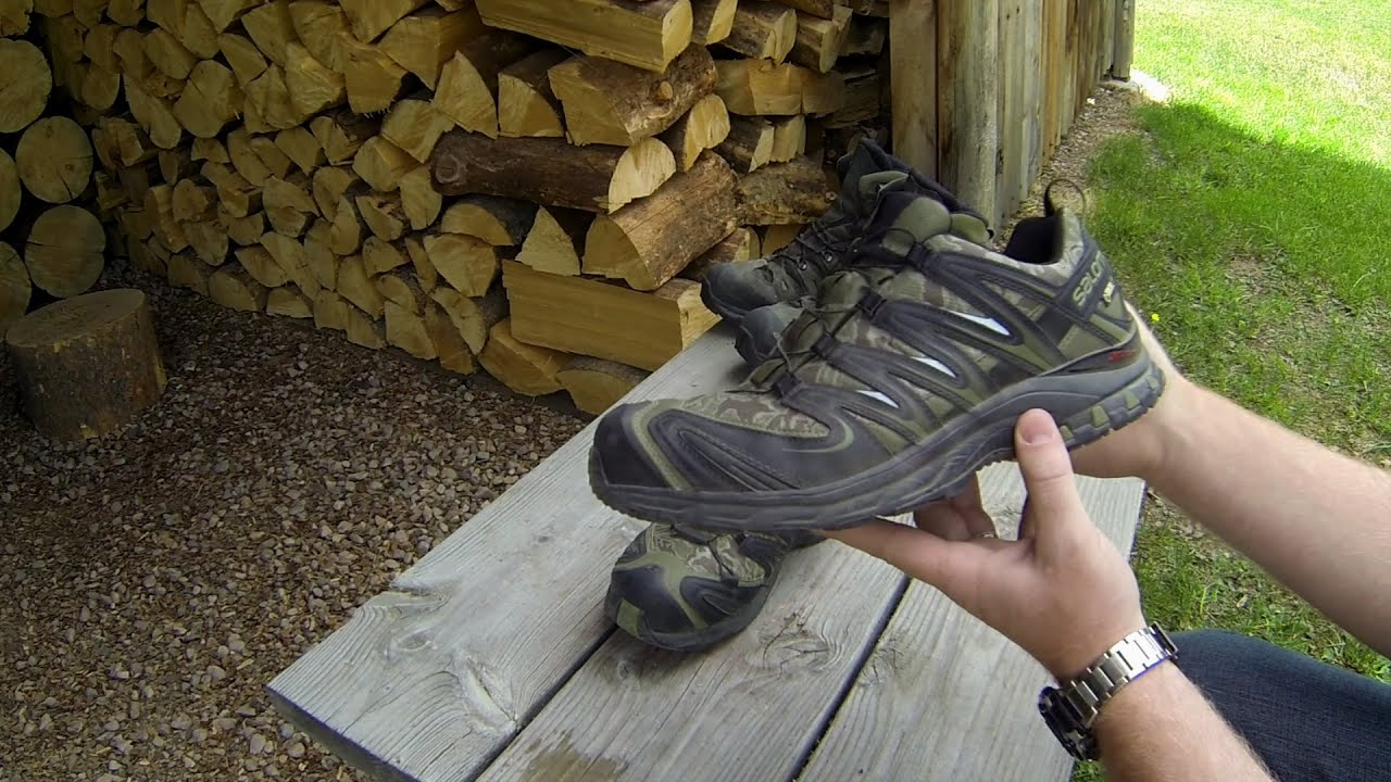 salomon xa pro 3d ultra gtx trail-running shoes review