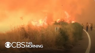 At least 19 people dead, dozens missing in wildfires