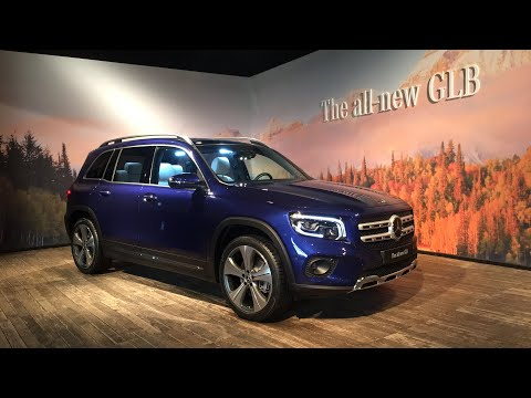 First look at the Mercedes-Benz GLB compact 7-seater SUV ...