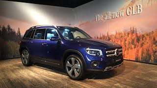 First look at the Mercedes Benz GLB compact 7 seater SUV