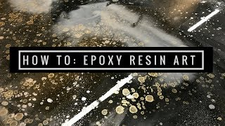 How To: Create Galaxy Wall Art with Epoxy Resin