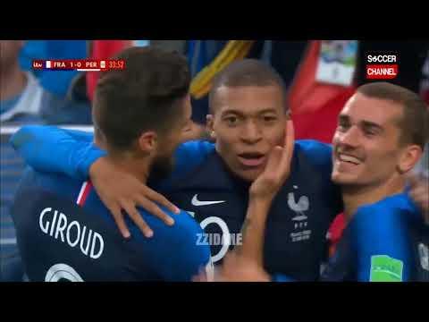 France vs Peru 1-0 FIFA World Cup 2018 | Highlights