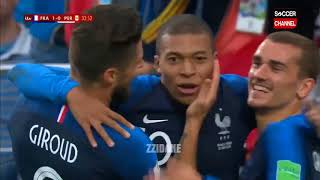 France vs Peru 1-0 FIFA World Cup 2018 | Highlights