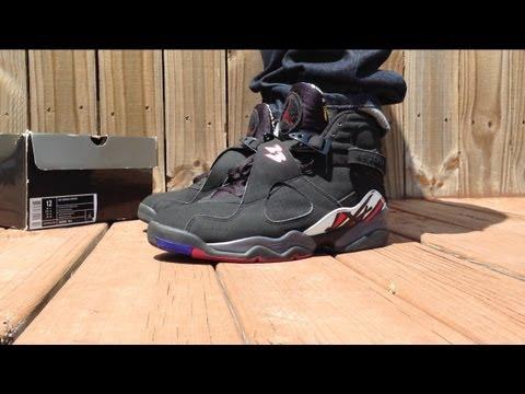 "Playoff 8s 2013 On Feet Air Jordan 8 ""Pla..."