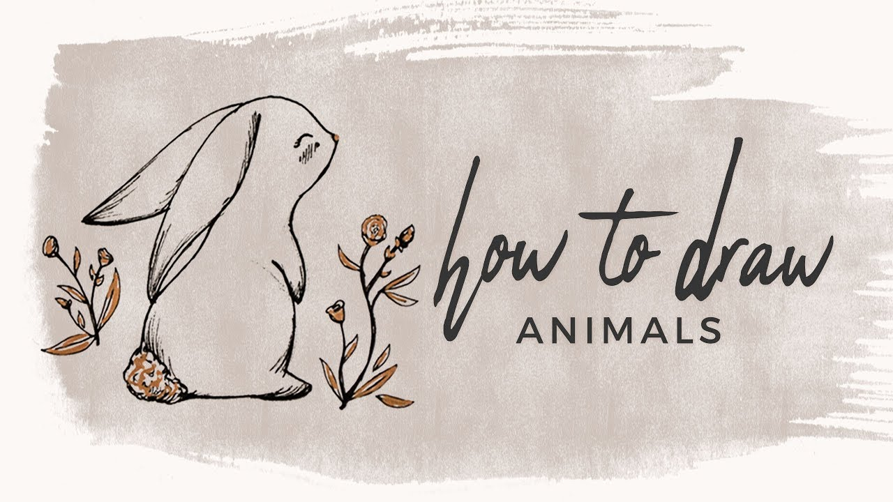 how to draw animals doodle with me youtube