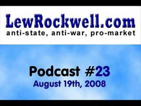 LewRockwell.com Podcast #23 - Road Socialism