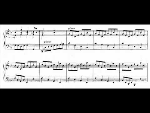 J.S. Bach - BWV 971 (3) - Italian Concerto - Presto