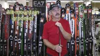 видео Что такое рокер в горных лыжах?