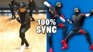 "Fortnite IKONIK dance in real life!! Dance ""scenario"" in real Speedway!"