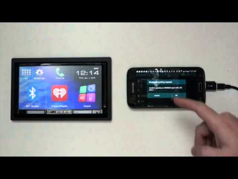 JVC Android Smartphone Control