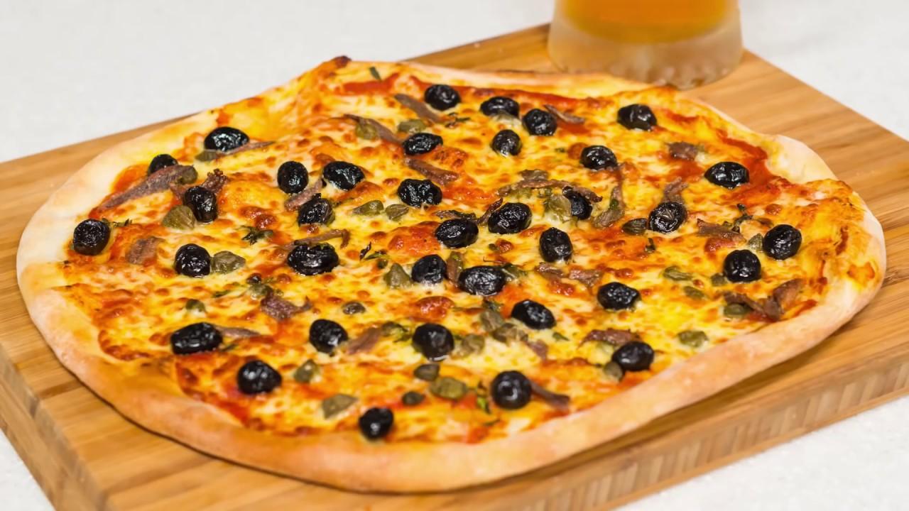 Reteta - aluat de pizza rapid si Pizza Romana | Bucataras TV