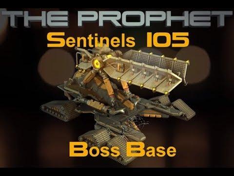 War Commander Sentinels 105 Boss Base Elite Prophet Parts