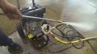 3000 psi loncin 7 horse power petrol washer with annovi reverberi italian pump