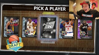 THE DRAFT! NEW GAME MODE IN NBA 2K16!