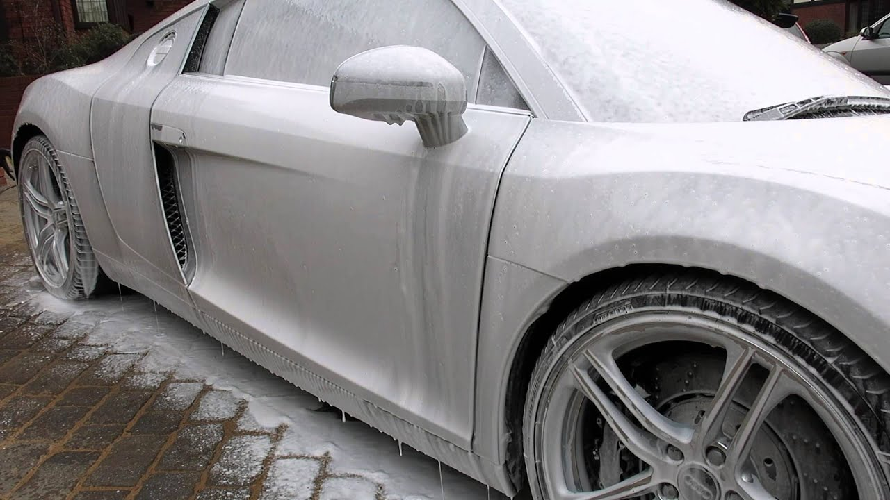 Uk Car Wash Snow Foam