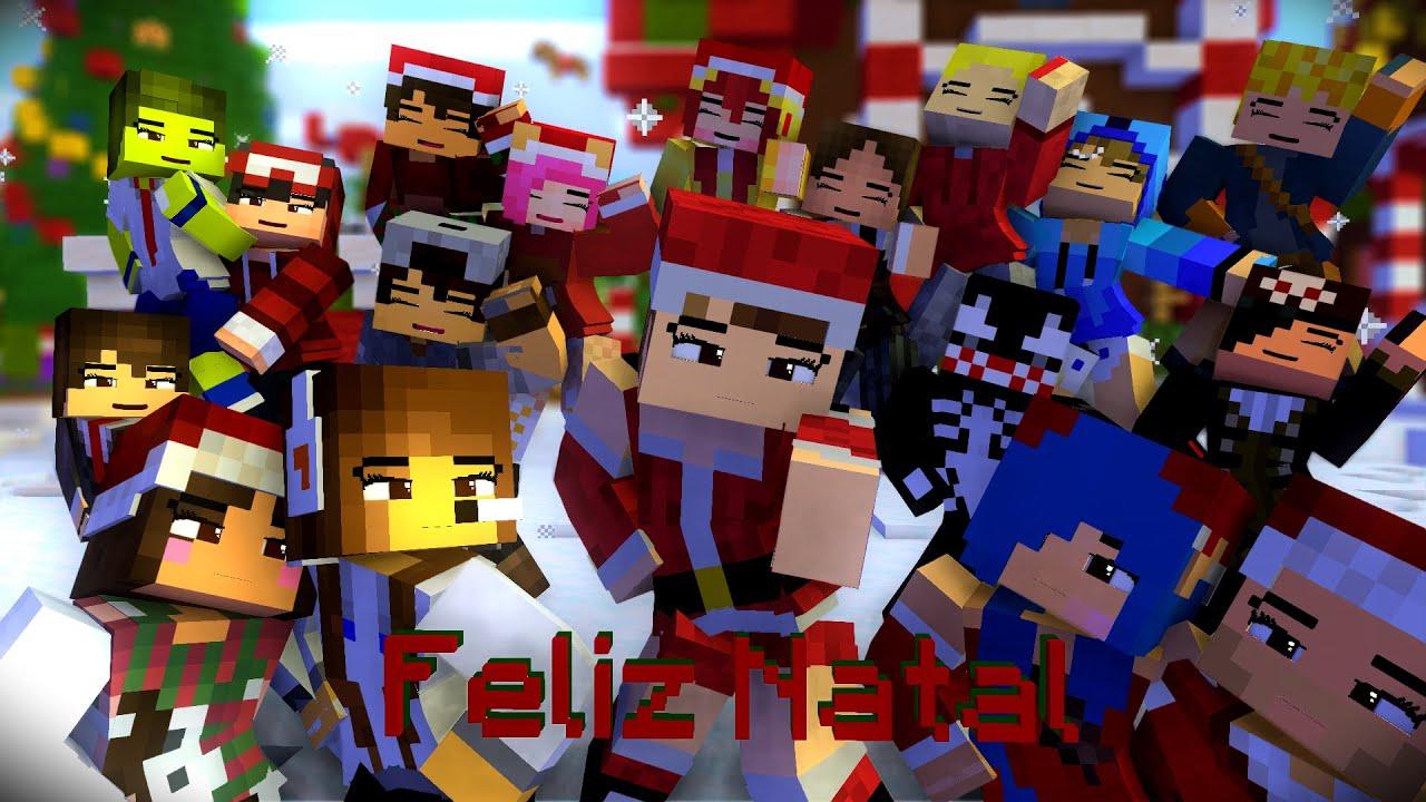 Especial de Natal (Animação Tema Minecraft Ultimato)