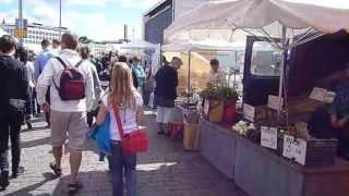 видео Идем на рынок в Хельсинки: блошиный рынок, рыбный рынок и пр.