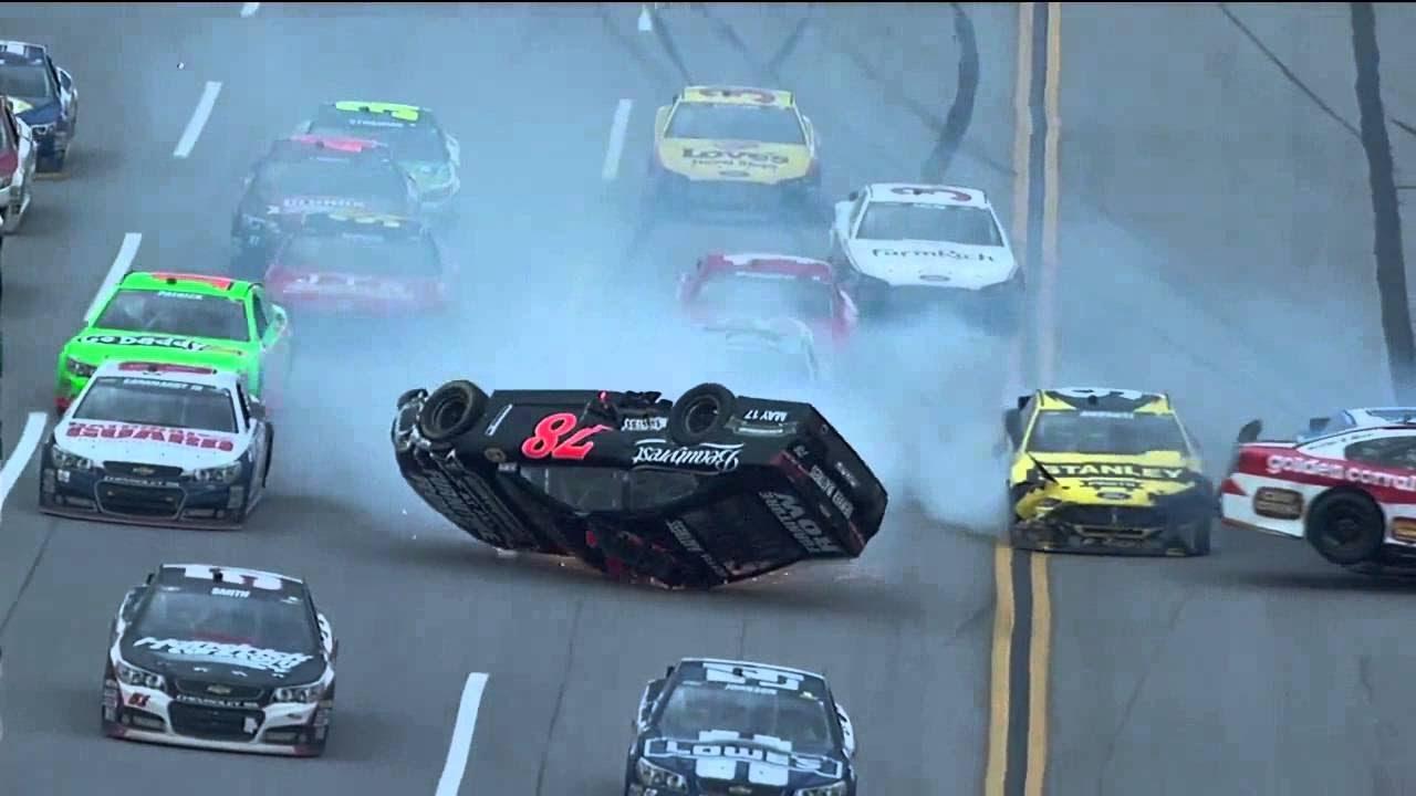 NASCAR Crashes - YouTube